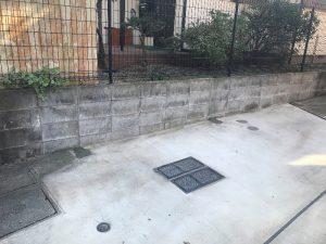 主柱切断後コンクリート補修