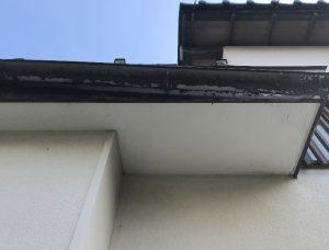 一階雨樋破損