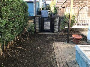宮前区草刈り作業後