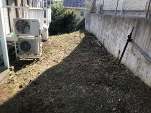 相模原アパート草刈り完了
