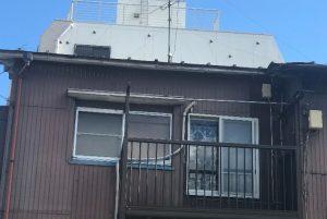 横雨樋撤去完了横浜南区現場