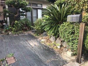カーポート撤去横浜市金沢区現場完了