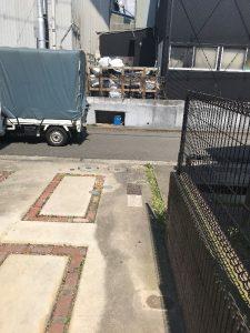 カーポート解体撤去完了横浜市都筑区現場