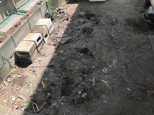 物置撤去完了神奈川県寒川現場